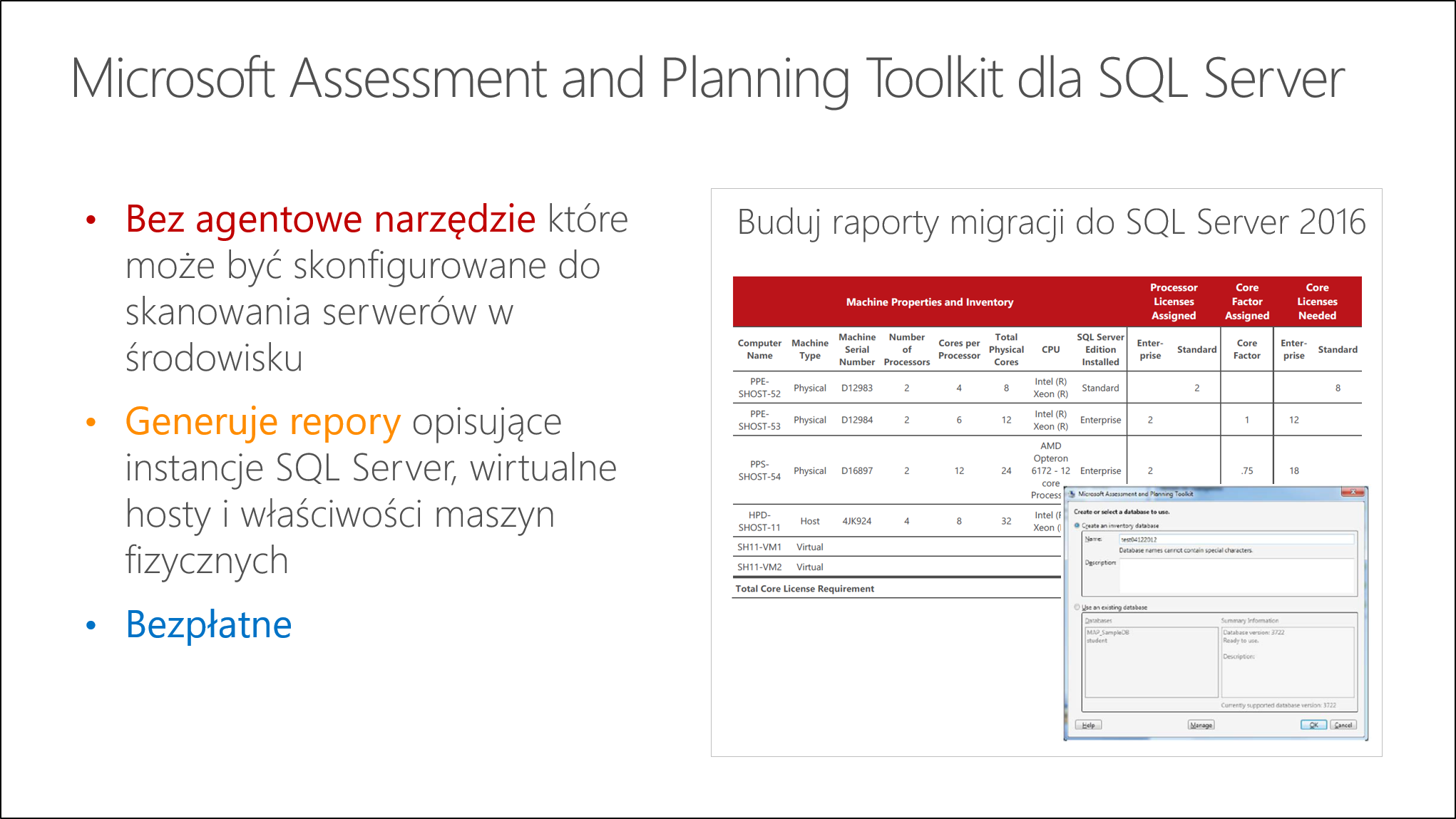 Co to jest Microsoft Assessment and Planning (MAP) Toolkit dla SQL Server