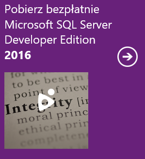 Pobierz SQL Server 2016 Developer Edition