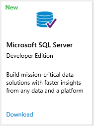 SQL Server 2016 Developer Edition